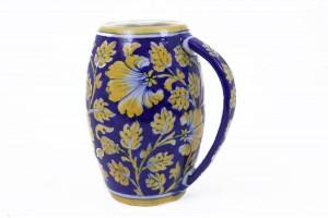 Blue Pottery Beer Mug