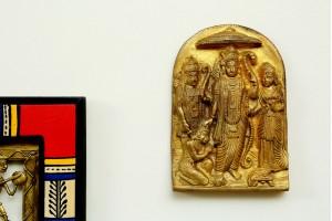 Brass Figurine Hanging Ram Darbar