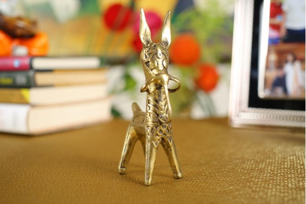 Dhokra Art Standard Bankura Horse Figurine