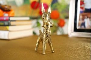 Dhokra Art Small Bankura Horse Figurine