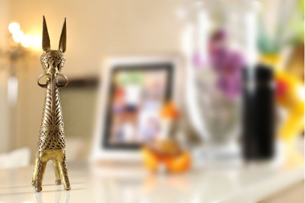 Dhokra Art Extra Large Bankura Horse Figurine