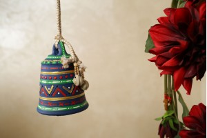 Terracotta Small hanging Bell