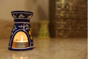 Blue Pottery Blue Aroma Diffuser