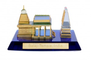 Crystal 24 Karat Gold Plated Small Tirupati Balaji...