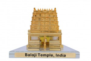 Crystal 24 Karat Gold Plated Large Tirupati Balaji...