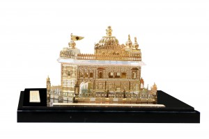 Crystal 24 Karat Gold Plated Small Golden Temple