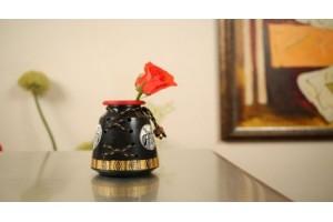 Terracotta Medium A Shape Jute Vase